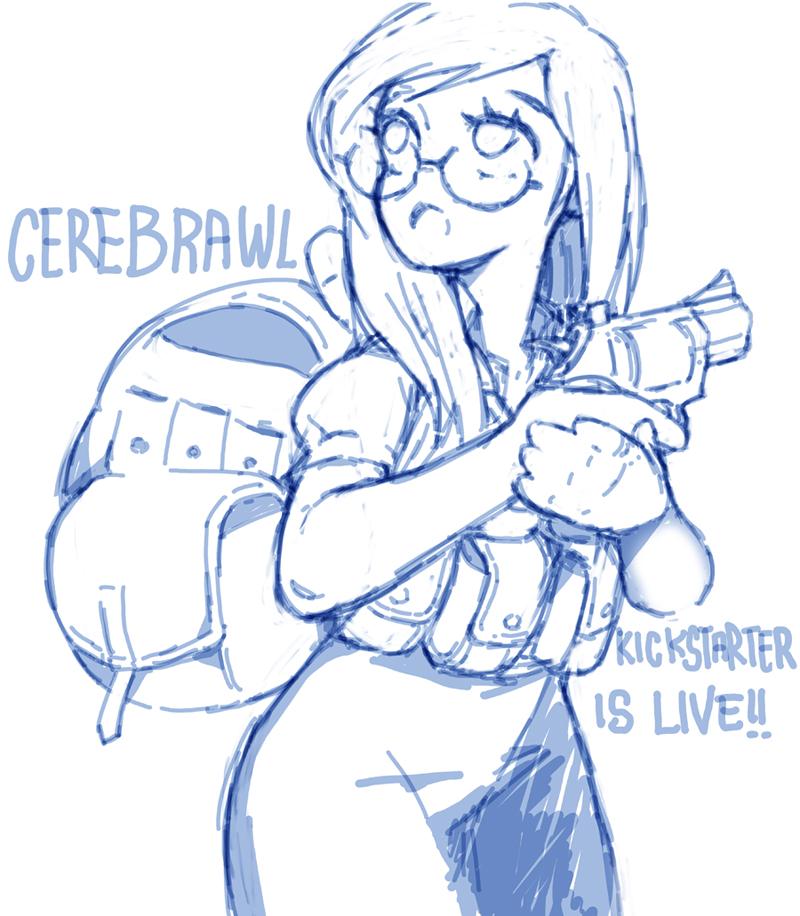 Cerebrawl Kickstarter: Kat Smith by NIW