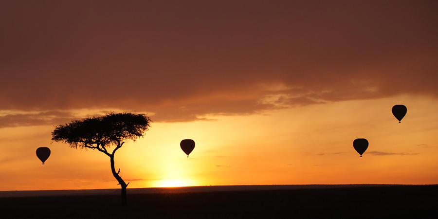 African Sunrise by serhatdemiroglu