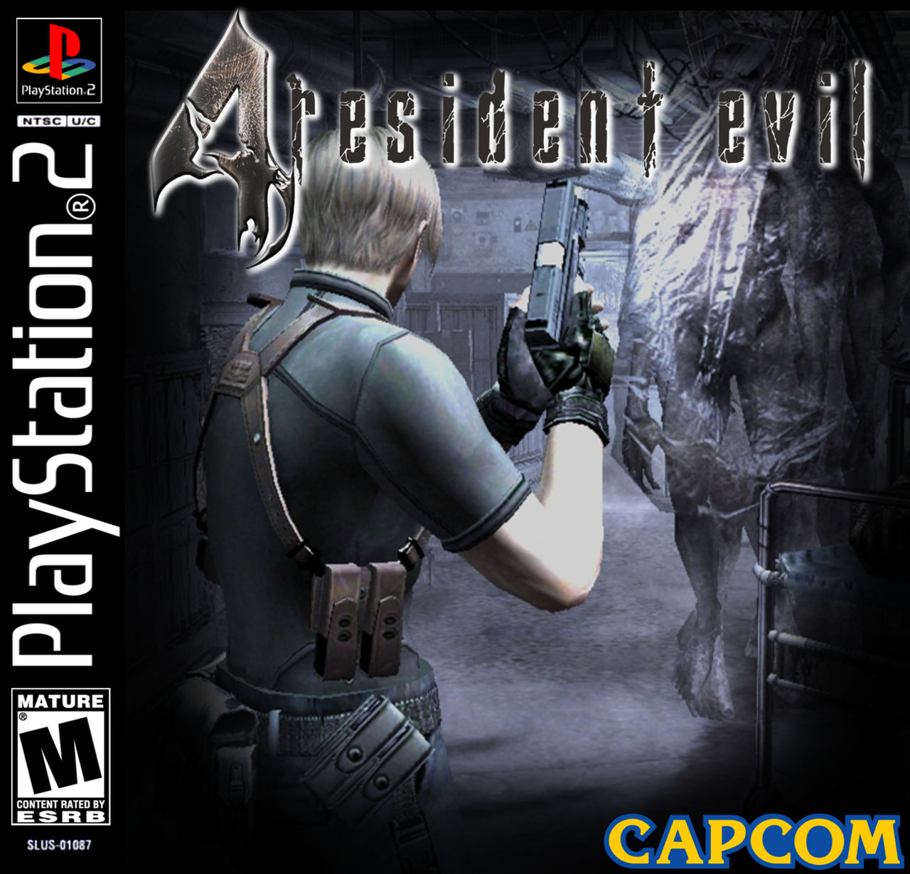 Resident Evil 4 Ps2 Jewel Case Cover By Startingagain On Deviantart
