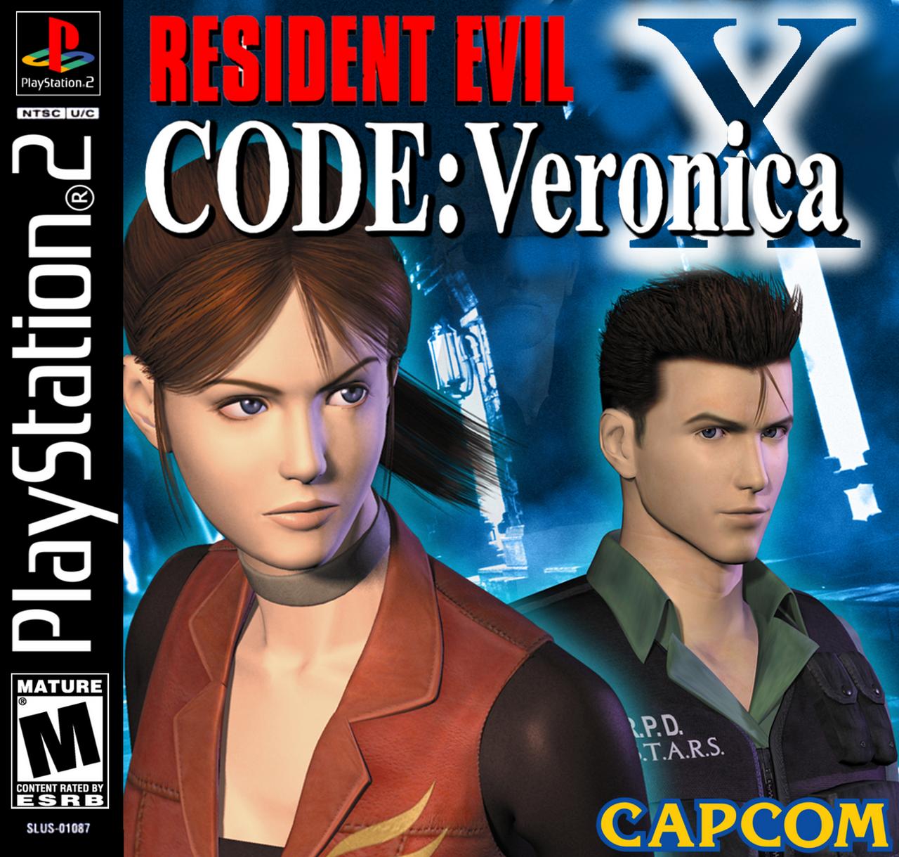 Resultado de imagem para resident evil code veronica x ps2