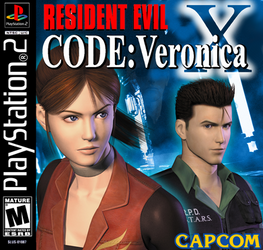 Resident Evil Code Veronica X Ps2 Jewel Case Cover by StartingAgain