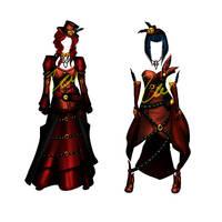 Steampunk Designs 1 by Zai-R