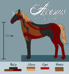 Axenus Reference Sheet by Keledry1