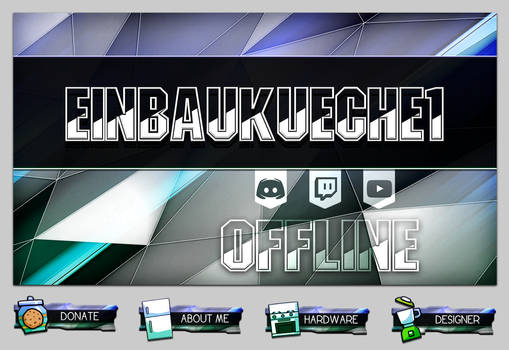 Streamer Pack ( Panels, Background )
