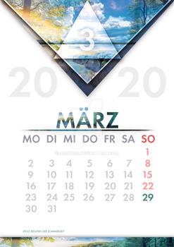 [GER] Kalender Maerz / [ENG] Calendar March