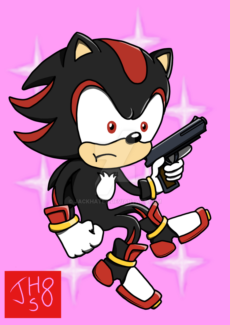 He's got a gun and an edgy attitude. by JackHates