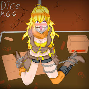 Yang Xiaolong RWBY Ring Gagged in the Alley