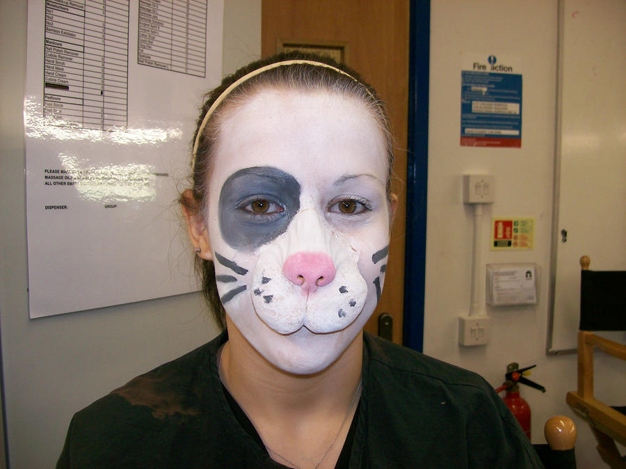 Rabbit Face Paint By AlisonGrasbyMakeup ...