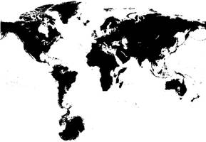 Map Of The World for 50 milion years by elfik-traktor