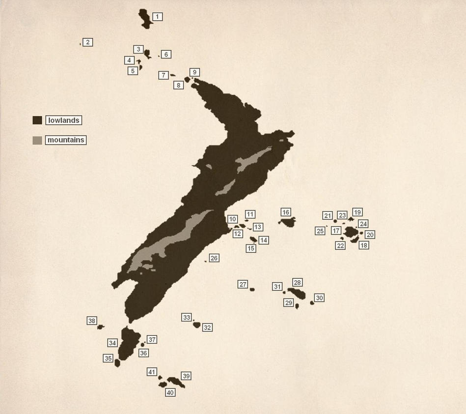 New Zealand by elfik-traktor