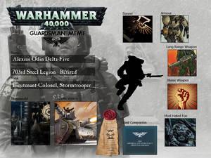 Alexius Odin - Stormtrooper / Guardsman Meme