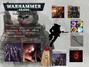 Mercurius Fex - Reaver / Guardsman Meme