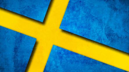 Swedish Flag Background