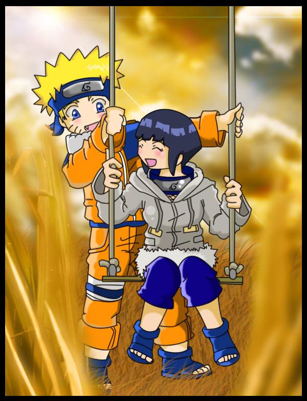 Naruto and Hinata-Swing-color by nennisita1234