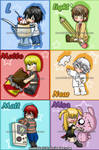 Death note: My chibis style