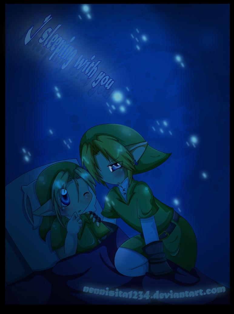 Zelda: sleeping with you XD by nennisita1234