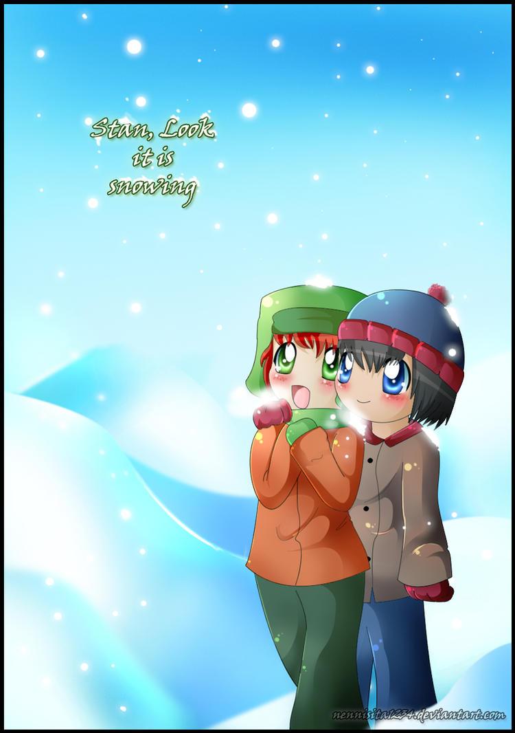 SP: stan, it is Snowing :D by nennisita1234