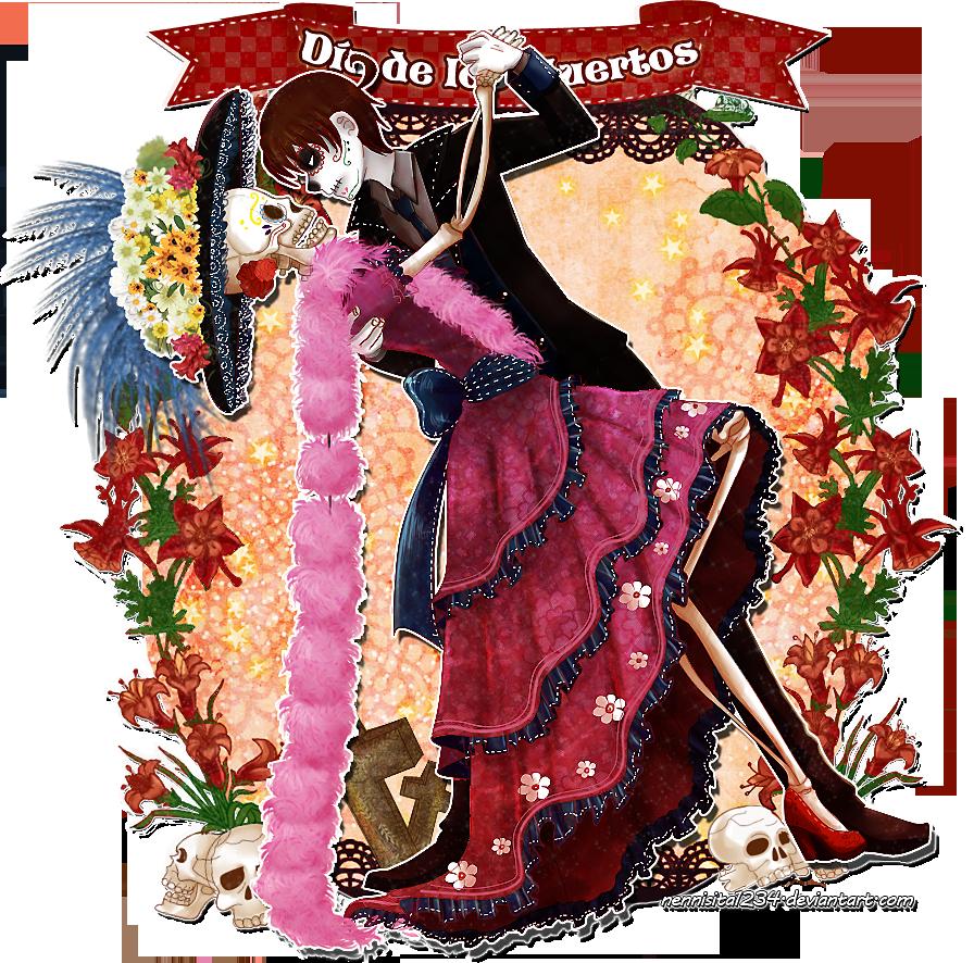 HTMR: Dia de los Muertos by nennisita1234