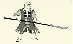 Sohei Warrior Monk