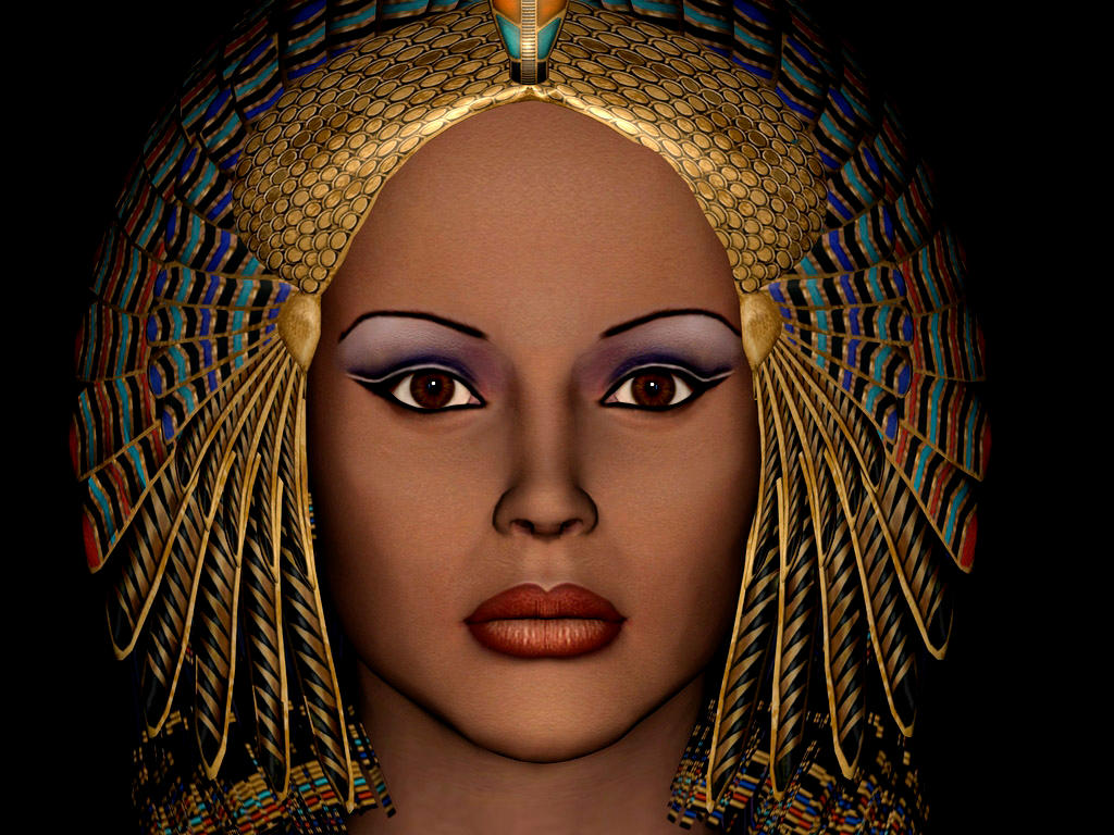 The real cleopatra makeup