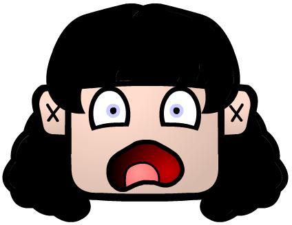Scary cartoon face.. by JackColl