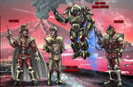Time Lord Army Concept.