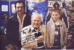 Me Ash and Colin Baker