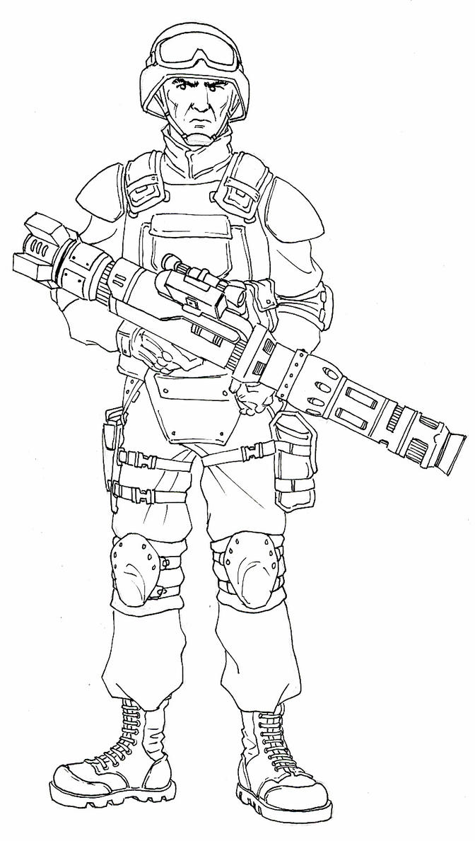 Line Art Unit : Unit artillery line art by darkangeldtb on deviantart