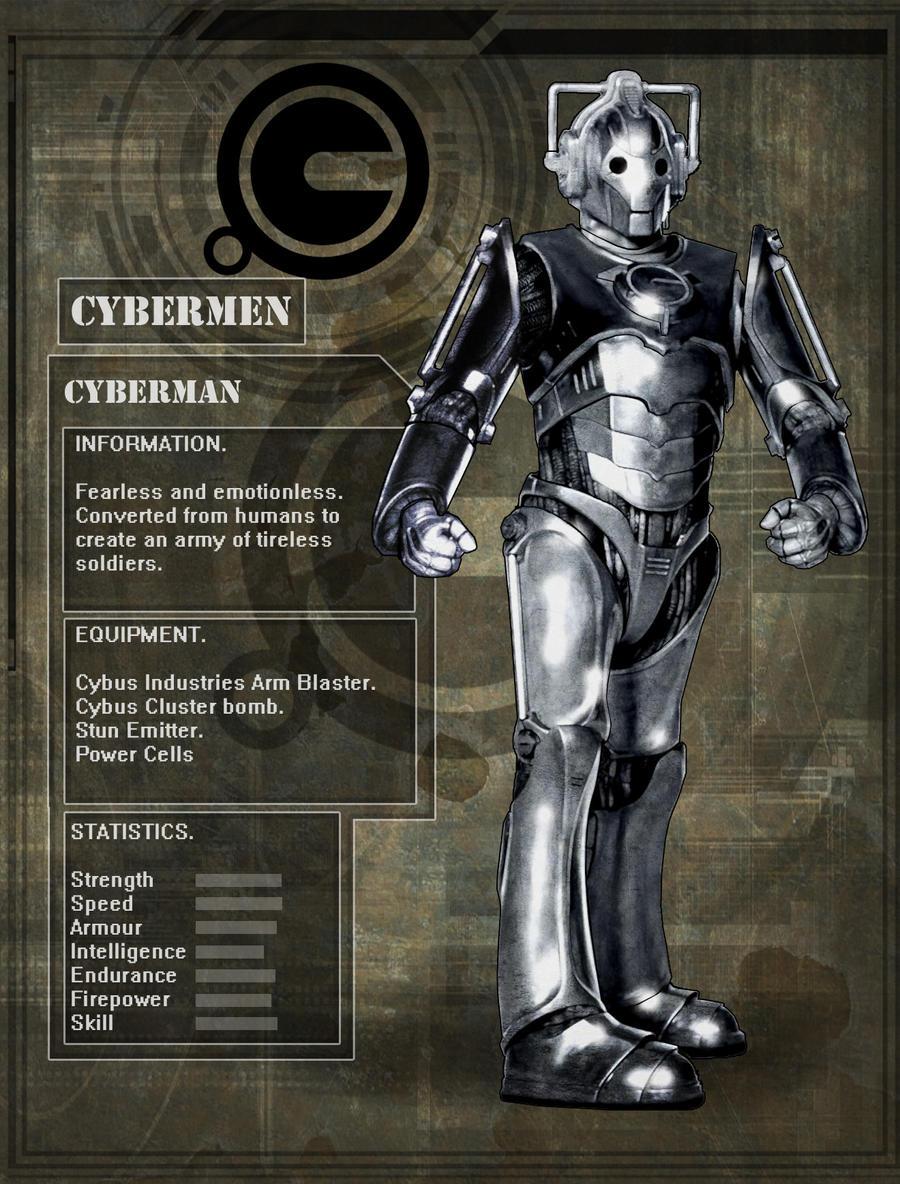 Evolution Of The Cybermen Cyberman by DarkAngelD...