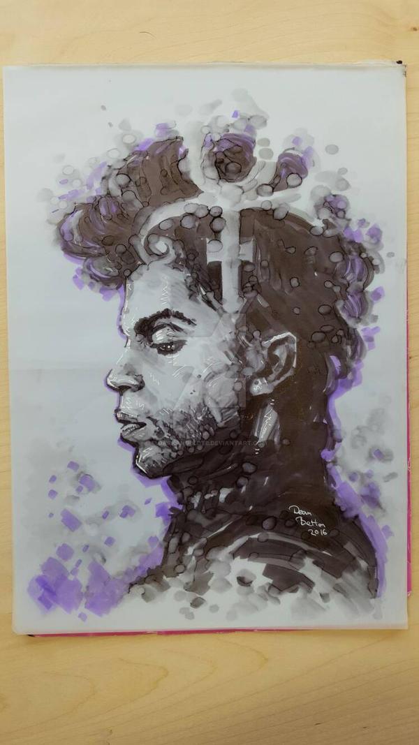 Prince Marker drawing  by DarkAngelDTB