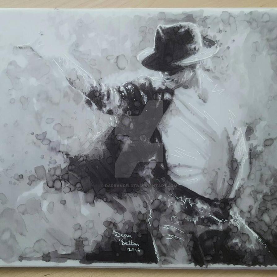 Michael Jackson marker drawing  by DarkAngelDTB