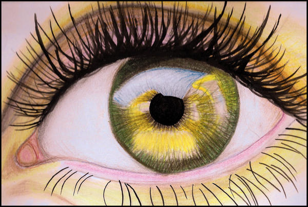 Pastel Eye by TinyTumbler by Teen-Art-Club