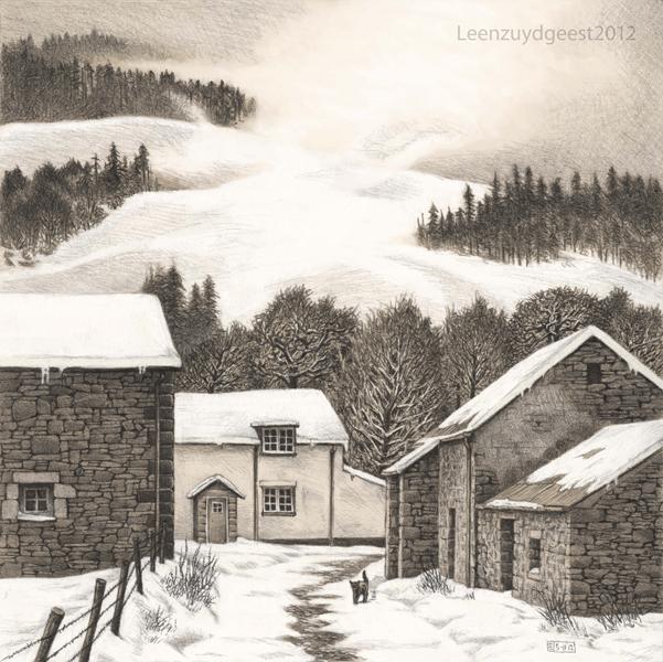 Lanefoot farm by LeenZuydgeest