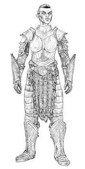 orsimer steel plate armor