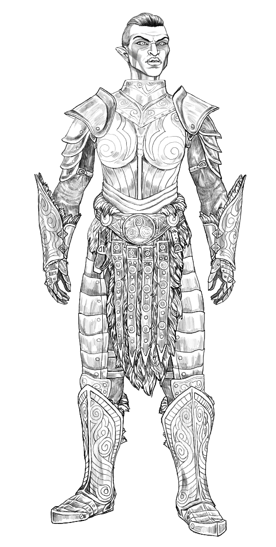 orsimer steel plate armor by swept-wing-racer on DeviantArt