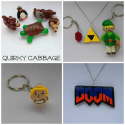 My polymer clay shop by QuirkyCabbage
