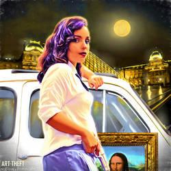 Art Theft - Mona Lisa by Indeedee-Graphics