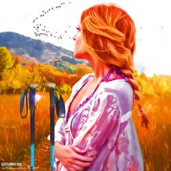 September Girl by Indeedee-Graphics