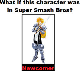 What if Janne d'Arc was in SSB?