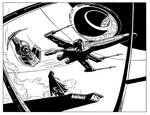 X-wing dogfight