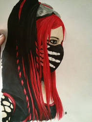 Cyber Goth by boehsesetwas
