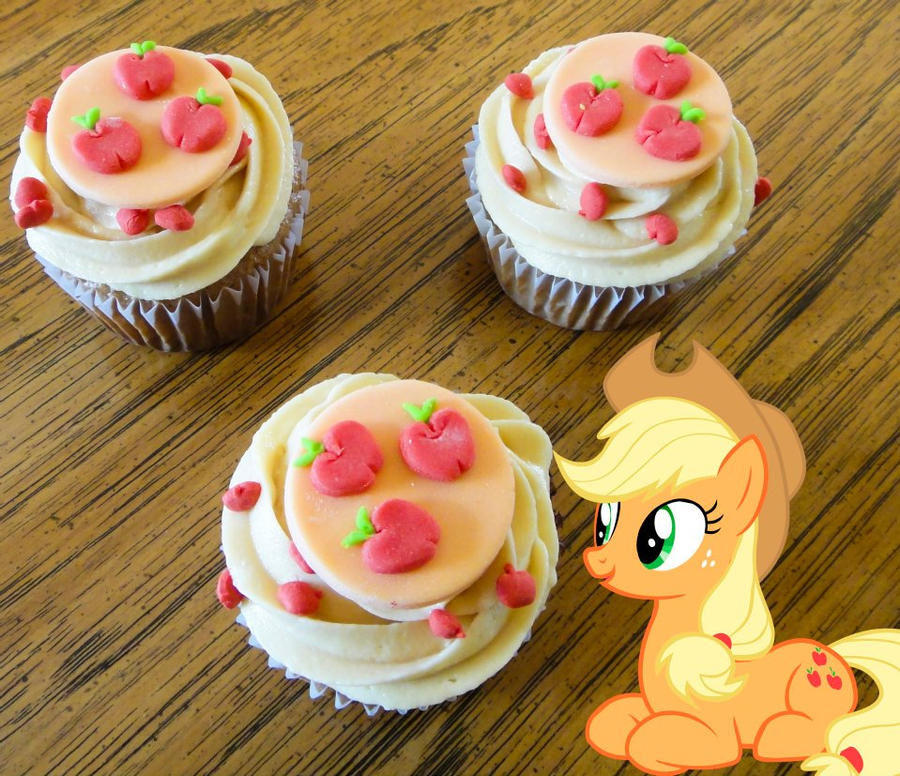 Apple Jacks Spiced Cupcakes By LadyGryffindor