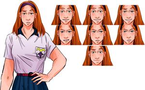 Emily's sprites by boniae