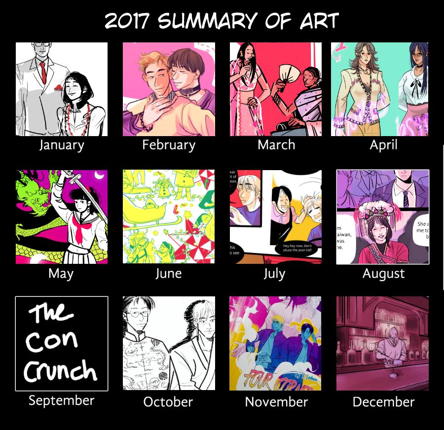 2017 Art Summary by boniae