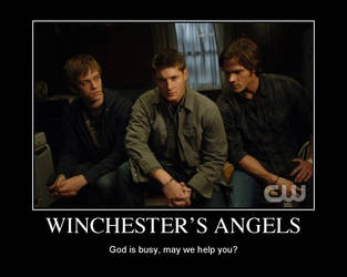 the winchester's angels by morwenvaidt