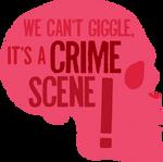 It's a crime scene.