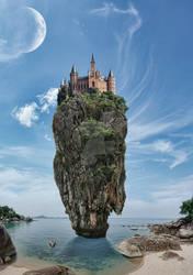 Villa on the rock