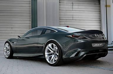 Mazda RX-9 Concept by BramDC