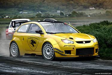 Proton Satria Rally-X by BramDC