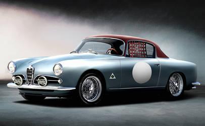 Alfa 1900 Classic racer by BramDC